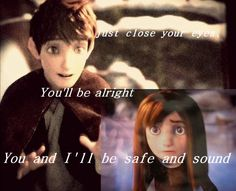 You and I'll be Safe and Sound (Jack and his little sister) Disney Movies To Watch, Disney Animated Movies, Movie Couples, Cute Couples, Brown Hair Cartoon, Jackson Overland, Disney Names, Cute Disney, Disney Art
