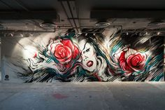 Mural artwork by David Hooke aka Meggs #street #art