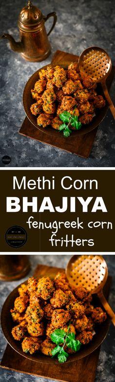 Methi Corn Bhajiya