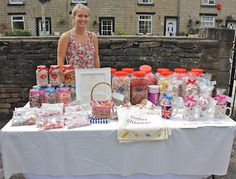 Fete also including nostalgic games such as 'guess the weight of the cake' and 'how many in the jar?'