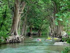 Frio River, Texas hill country