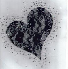 Tattoo idea, lace heart