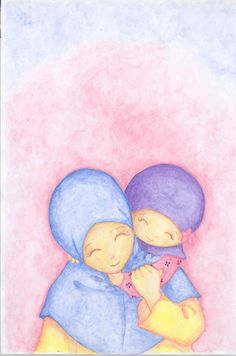 and baby hijab mom and me by albirru mom and me by alb… und baby hijab mama und ich von albirru mama und ich von albirru Baby Kind, Mom And Baby, My Mom, Baby Wallpaper, Mother And Daughter Drawing, Baby Hijab, Mom Drawing, Cartoon Mom, Hijab Drawing