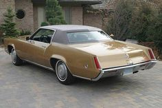 1969 Cadillac Eldorado Maintenance/restoration of old/vintage vehicles: the material for new cogs/casters/gears/pads could be cast polyamide which I (Cast polyamide) can produce. My contact: tatjana.alic@windowslive.com