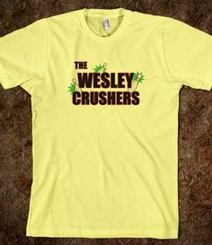Wesley Crushers.  I'm gonna need this.