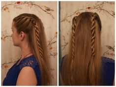 How To Do Rope Side Braids (Video Demonstration)
