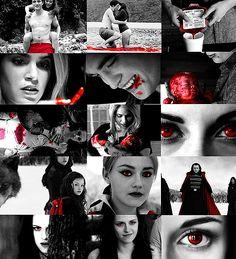 maybeisjustadream: The Twilight Saga in red - part 3