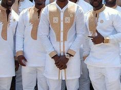 African men clothing/African men outfit/african wedding suit/African men's shirt/ vêtement africain/ chemise africaine et pantalon. African Wedding Attire, African Attire, African Wear, African Dress, African Weddings, Wedding Men, Wedding Suits, Wedding Ideas, Dream Wedding