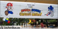 Mario & Sonic Birthday Party
