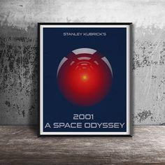 Movie poter print.2001 A Space Odyssey-movie by OandBstudios