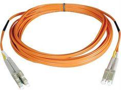 Tripp Lite Duplex Multimode 50-125 Fiber Patch Cable (lc-lc), 3m (10-ft.)