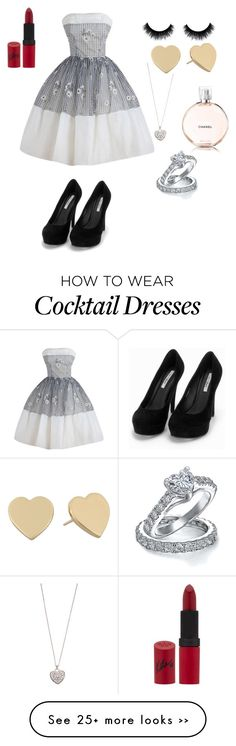 """Vintage"" by lovelybeth122 on Polyvore featuring Nly Shoes, Rimmel, Accessorize, Kate Spade, Bling Jewelry and vintage"