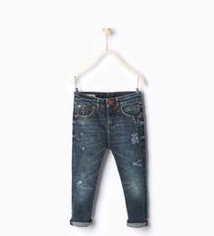 Studded jeans from Zara Boys