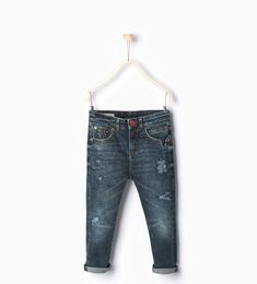 ZARA - NEW IN - Studded jeans