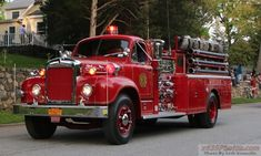 One note: That cool Mack B Engine belongs to Bedford Village FD. Fire Dept, Fire Department, Old Mack Trucks, Fire Horse, Rescue Vehicles, Fire Equipment, Old Tractors, Firetruck, Fire Apparatus