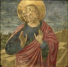 Benozzo Gozzoli (Benozzo di Lese detto) - San Giovanni Evangelista (?) - 1450-1460 - Accademia Carrara di Bergamo Pinacoteca