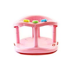 Babymoov Fun Bath Ring Seat PINK Color Tub Bathtub NewBorn New Born Children Kid Infant Safety Chair