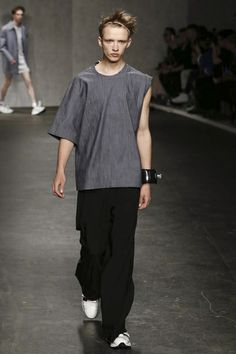 Xander Zhou Menswear Spring Summer 2015 London