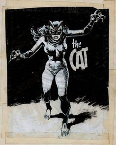 wally wood sketchbook | ... by ronn s here s woody s early sketch of marvel s cat character