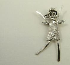 Angel Jasmyn Is Full Of Joy  Up Cycled Sterling and by robinwade, $112.00