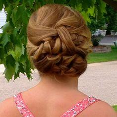 Kk's hair for prom