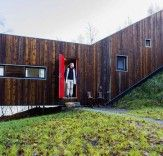 Man Builds Spectacular Dream Home in the Norwegian Countryside