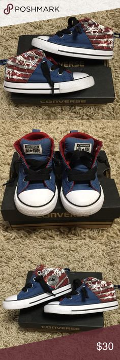 Converse High Top Sneakers Cute wear for ur little one! Converse Shoes
