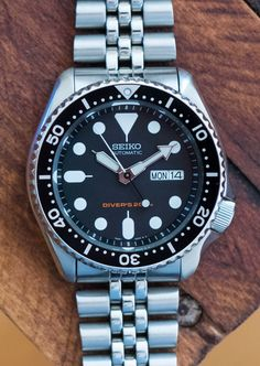 The Value Proposition: The Seiko SKX007 Diver's Watch