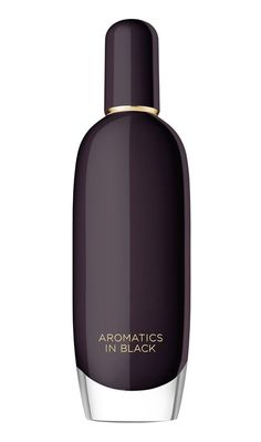 clinique aromatics in black. I have this new perfume from clinique. It's a warm scented perfume which I like a lot. I feel that it's more a perfume to wear during fall and winter than a spring or summer perfume