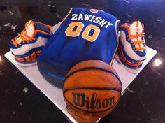 basketball cake for Juan