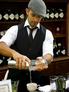 1000+ images about Male Bartender looks on Pinterest | Bartenders Semi formal attire and ...