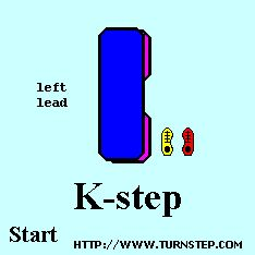 Animated graphic of 'K-step'