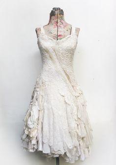 Gibbous Fashion - wedding dress for Bethany
