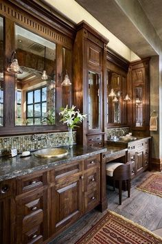 Love this!!! Fabulous bathroom