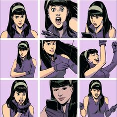 Kate Bishop in Hawkeye vs Deadpool 002