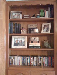 I had fun putting together these bookshelves.