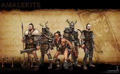 FIVE: Guardians of David - Amalekite