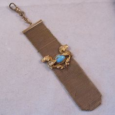Victorian Griffin Pocket Watch Fob Chain by BrightEyesTreasures, $65.00