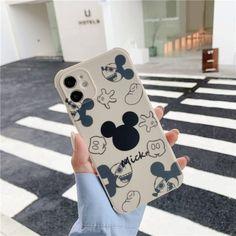 Disney Mickey Minnie Cartoon Phone Cases For iPhone