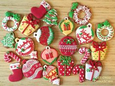 Gingerbread cookies Christmas ornaments 2015