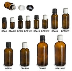 Dropper bottles for Doterra essential oils. Make your own blends or travel packs