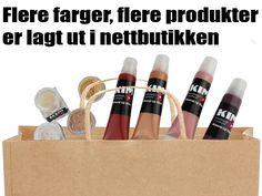 Flere farger, flere produkter..  www.kim4u.no