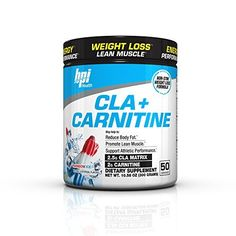 CLA + Carnitine is BPI Health's #1 Weight Loss Formula. CLA and Carnitine are two very popular ingredients that have been clinically studied for their roles in weight management. CLA and Carnitine are designed to work together to help burn stored body fat, converting it to energy. CLA +... more details at http://supplements.occupationalhealthandsafetyprofessionals.com/weight-loss/supplements/cla/product-review-for-bpi-sports-cla-carnitine-non-stimulant-weight-loss-supple