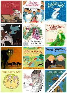 Get ready for Chinese New Year! 15 Chinese Folktales for Kids. (Click through to see the whole list.)