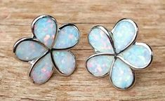 Fire Opal Flower Daisy Stud Earrings with Gift Pouch, Fire Opal Earrings   | eBay
