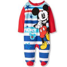 New 2017//18 Mickey Mouse Disney Baby Babies Baby Boys Sleepsuit Pyjamas Onesie Gift Box 100/% Cotton 0-24 Months