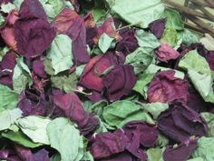 Dried Flowers  Dried Rose Petals and by CountrySquirrelsNest