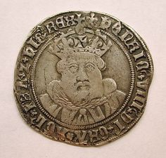 Testoon of Henry VIII. The forerunner of the shilling, the testoon, was produced in extremely small quantities, probably around 1489, and the fact that there are only three known dies for this issue shows that the coins were not made for general circulation. They were probably trial pieces or patterns. The testoon was struck in quantity during the last part of the reign of Henry VIII, with The Tower, Southwark, and Bristol mints producing testoons in 1544–1551.