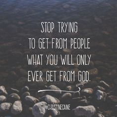 Click here to view in browser. Christine Caine - First Things First   Stop trying to get from people what you will only ever get from God.  And my God will meet all your needs according to the riches of his glory in Christ Jesus (Philippians 4:19).
