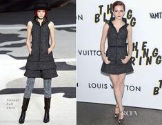 Emma Watson In Chanel - 'The Bling Ring' LA Premiere